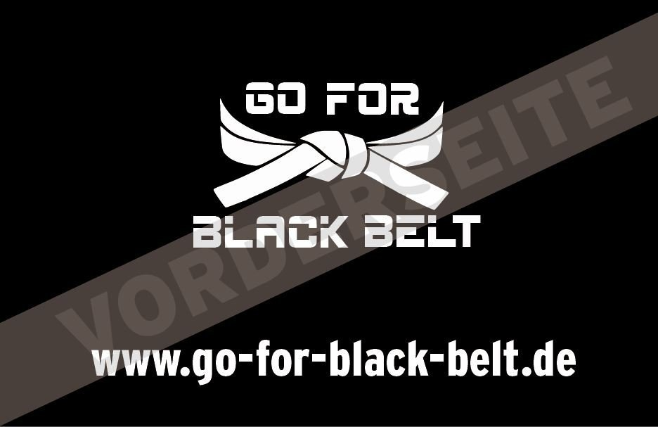 Go for black belt online taekwondo trainieren 500 business cards gfbb reseller article number 007 022 2000 aquire for gfbb with your own business cards magicingreecefo Images